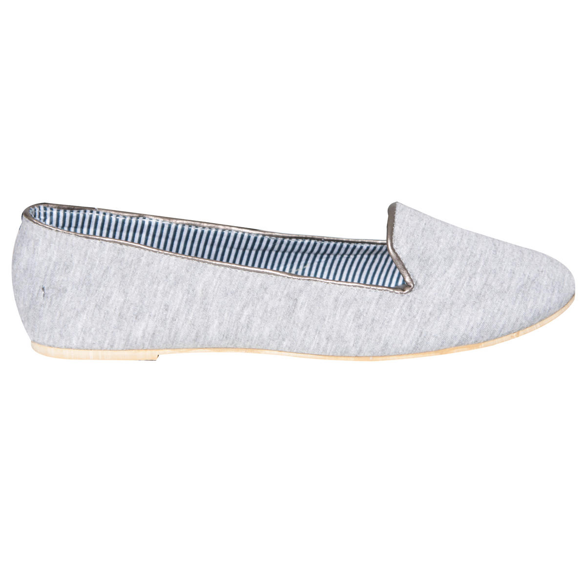 Grey Flat Slipper Shoe Preview